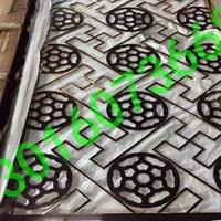 广东德普龙时尚雕刻铝窗花隔断怎么卖