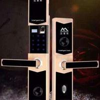 滑盖指纹锁  安全指纹密码锁 5222