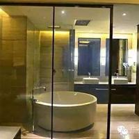 广州欧毅建材――OY美容院美容室雾化玻璃隔断与窗
