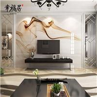 现代简约3d客厅影视墙砖 微晶石电视瓷砖背景墙 客厅背景飞扬