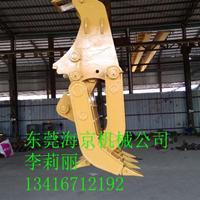 广东挖机抓爪,挖机叉式抓爪专业生产,抓爪批发