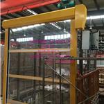 厂家生产开封快速门 电子厂无尘快速卷帘门 地磁高速自动感应门