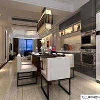 108平两居凤凰城现代风格装修设计案例