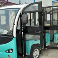 11座全玻璃门电动观光车价格