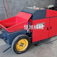 卧式二次构造混凝土输送泵价格与图鉴