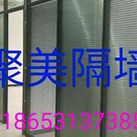 聚美厂家直销菏泽玻璃隔断墙   办公室玻璃隔断