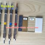 美国硬度笔套装 摩氏硬度2-9级 地坪 岩石 矿物 美国硬度笔