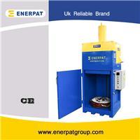 厂家现货供应立式液压汽油桶压扁设备