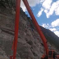 柳工挖掘机加长臂改装厂家