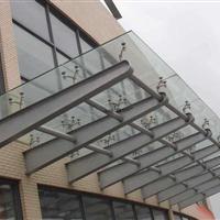 玻璃雨棚厂家直接供应安装