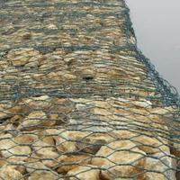 石笼网 镀锌石笼网 包塑石笼网