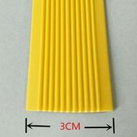 软质PVC环保防滑带  3CM宽橡胶楼梯防滑条价格