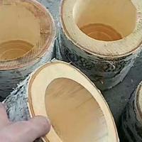 原木花盆笔筒 加工专用数控木工车床万方数控木工机械
