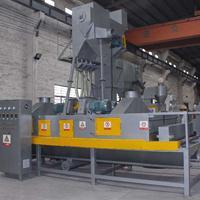 钢结构用通过式抛丸机系列 钢管外壁处理设备 强力除锈