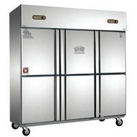 商用厨房立式不锈钢冷柜