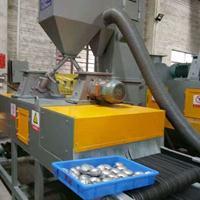 板材磨砂处理设备 去除油污 锈迹清理抛丸机 通过式抛丸机