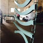 资阳弧形铝方通 异形铝合金方管 吊顶天花信誉保证