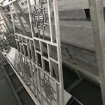 民族风格景区仿古铝窗格铝制品定制