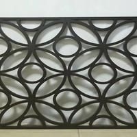 湛江 铝方管屏风 焊接铝窗花 幕墙铝窗花