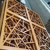 武汉木纹铝花格定做 焊接铝窗花生产厂家