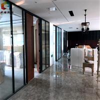 日照玻璃隔断_酒店会议室移动屏风高隔间
