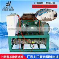 日产10吨盐水池块冰机降温冷藏工业制冰机厂家
