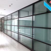东莞中空百叶窗隔断―活动屏风隔断―双层玻璃隔断工厂