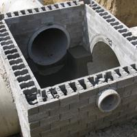 圆形井室模块砖 弧形井室模块砖 井室模块砖规格尺寸
