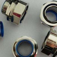 IP65防水铜镀镍软管接头 H59黄铜加工