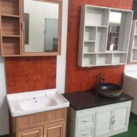 欧诺莱全铝材浴室柜金属家具