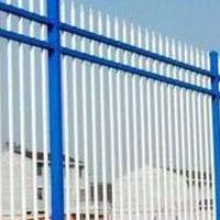 华禹护栏三横杆锌钢护栏围墙栅栏厂家直销批发