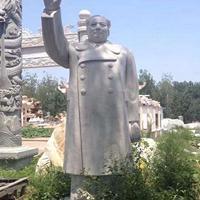 石雕毛主席 名人汉白玉石雕主席雕像 毛主席挥手雕塑