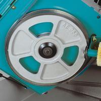 进口数控全自动卧式双柱金属带锯床金属切割机切管机