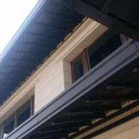 铝合金幕墙,挑檐装饰板,格栅装饰挑檐版