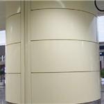 高端大气包柱幕墙铝单板材料