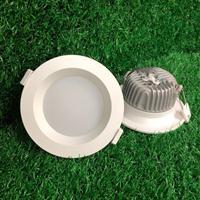 LED防水筒灯外壳 COB天花灯套件 生厂厂家