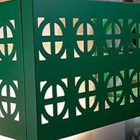 铝空调罩 铝空调防护罩 小区楼盘空调防护罩
