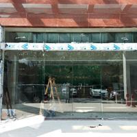 里水感应玻璃门施工方案 南海丰本自动门上门安装工程