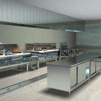 广州专业安装餐饮后厨房不锈钢烟管烟罩及风机风柜设计施工