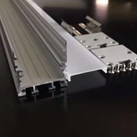 LED硬灯条吊线灯外壳 30*30吊线灯铝槽配件 硬灯条外壳套件