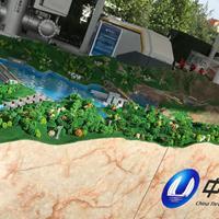 六阶梯级水利枢纽模型