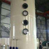 洛阳许昌开封PP板塑料板喷淋塔中和塔吸收塔脱硫塔生产厂家