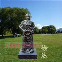 徐达古代人物雕塑树脂古代名将雕像