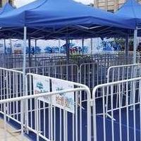 天津租赁展会围栏 出租铁马 租赁铁马护栏