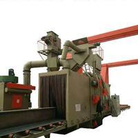 佛山喷砂机厂家铝板铝合金配件表面处理打沙机通过式抛丸机厂家