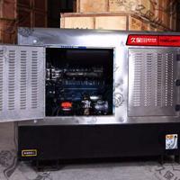 静音箱式400A柴油发电电焊两用机