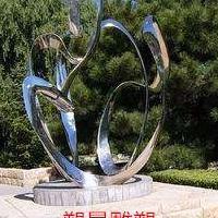 中山不锈钢镜面雕塑 小区景观雕塑设计