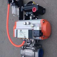 调节气动切断阀Q641F-16P  DN50 DN40 DN65 DN80