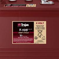Trojan邱健蓄电池T-105/6V225AH含税价格~包邮