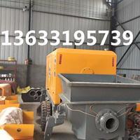 新型混凝土输送泵   卧式二次构造柱泵的优势